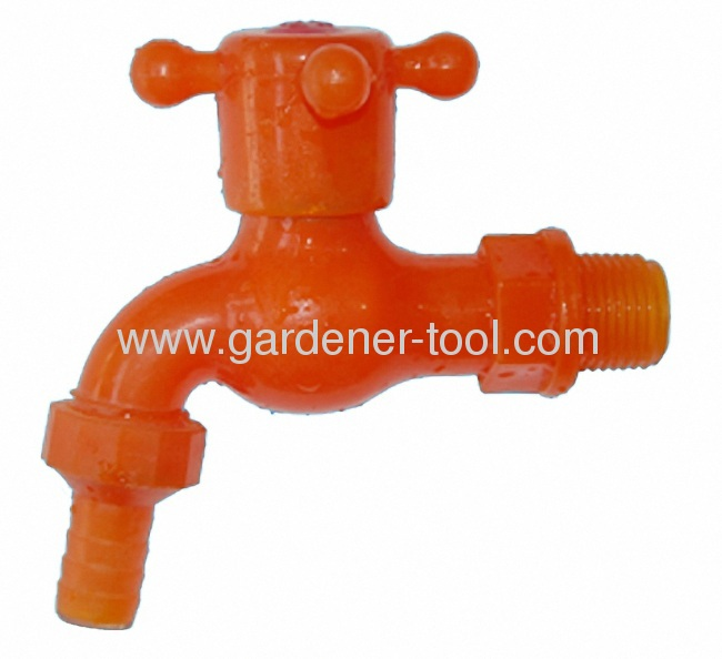 PVC Garden Water Faucet With+Handle