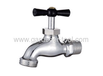 Metal Garden Water Faucet/Bibcock With Brass Valve.