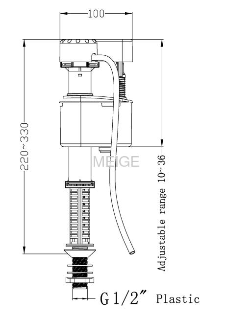 Fill valve