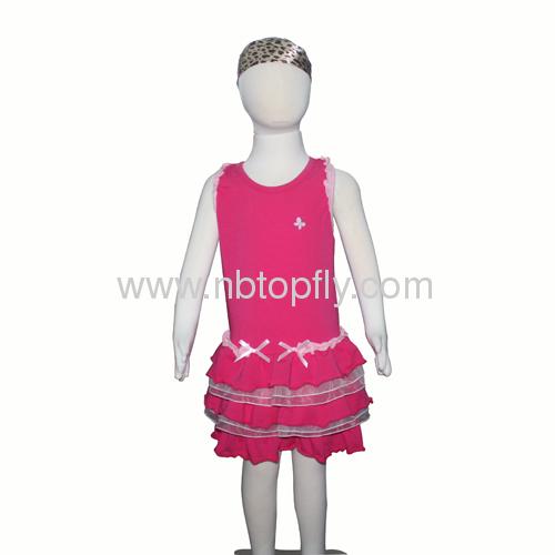 girls one piece dress with