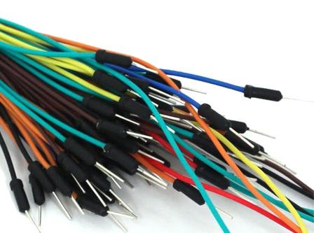 solderless breadboard male jumper wire