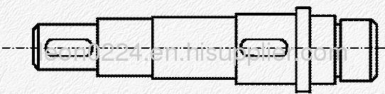 multi step shaft parts