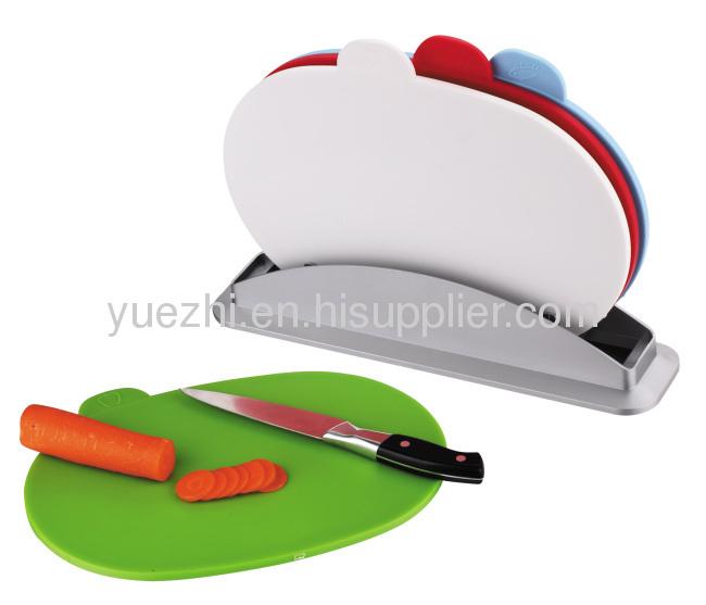 4pcs index chopping board cutting mat
