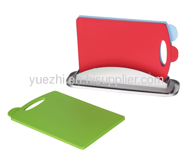 pp 3pcs index chopping board with water pan