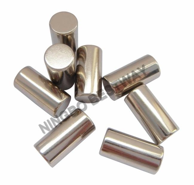 N35D20x45mm Neodymium Cylinder Magnets w/Ni coating