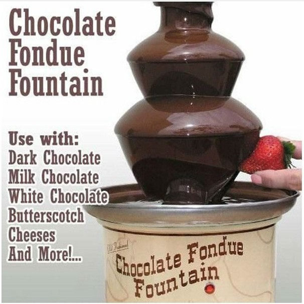 China4 tires home chocolate fountain buy