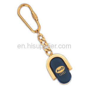 customized design metal spinner key chain