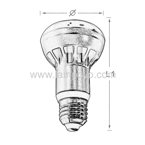 High Luminous Led bulb lamp 9W E27