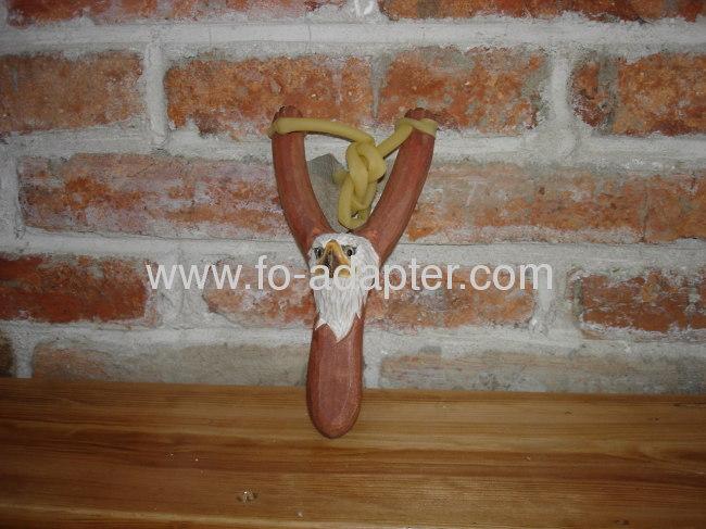 Exquisite Wood CarvedAnimal Slingshot