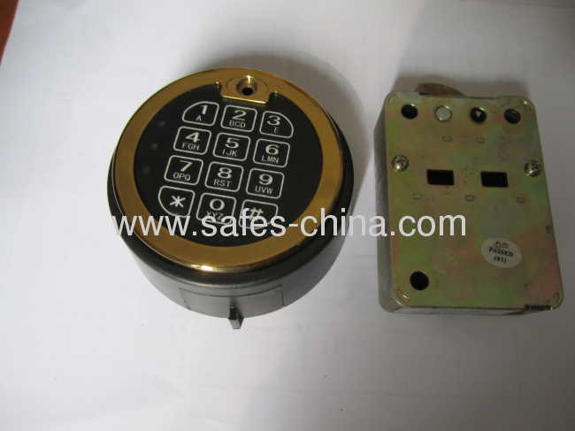 China electronic digital lock E-819R/ Time-delay safe locks