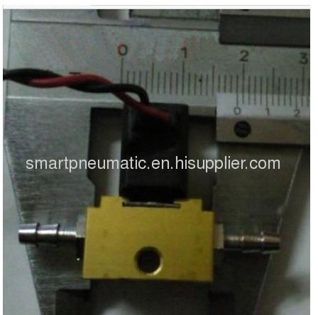 Micro solenoid valve,small solenoid valve,model MTT-06,size M5