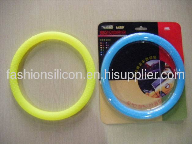 Cool easy wash silicone steering wheel case