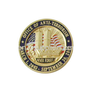 Customized military Challenge Coin and lapel pin