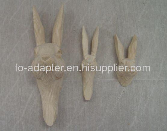 wood carved hook