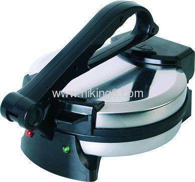 stainless steel india roti maker machine