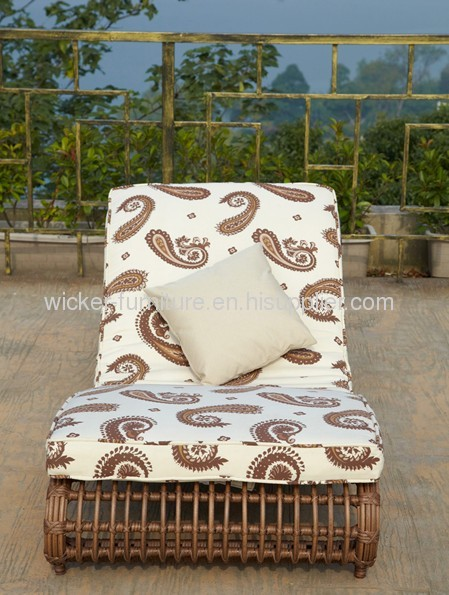 Garden wicker lounge set