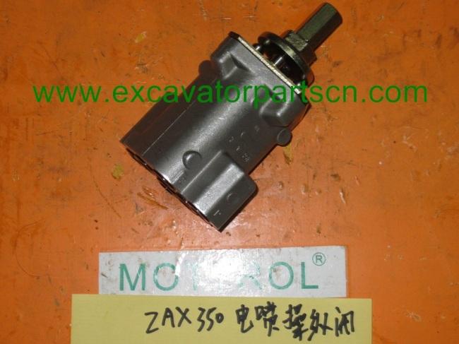 ZAX70 ZAX120REMOVE CONTROL VALVE