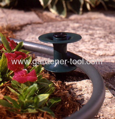 Garden PVC Water Hose Guide Preventing hose pulling agianst the grass