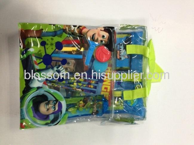 Hand bag pvc bag children stationery set gift packs