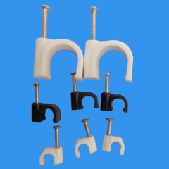 Cable Circle Nail Clips to fix cable line