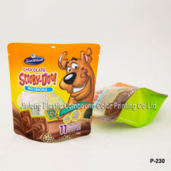 clear dog food bag