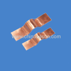 Copper bus bar expansion joints