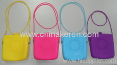 fashione Silicone colour satchel