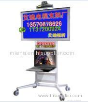 hot sale TV Trolley Floor Stand Floor LCD Mobile Stand lcd lift