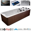 hydrotherapy&Aromatherapy mssage swimming whirlpool tub spa/portable hot spa