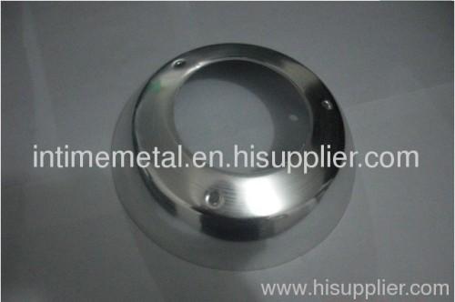 Professional spun aluminium parts