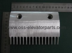 Escalator SCE Comb Middle M1 Sigma 16 teeth Aluminum