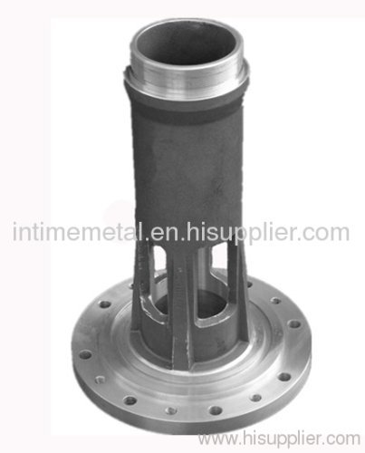 customized low pressure aluminum die casting