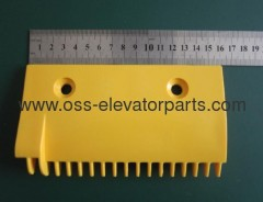 LG escalator -left Comb 159x90x90 17 teeth yellow plastic
