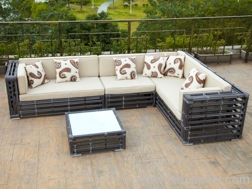 Rattan Furniture Wicker Sofa