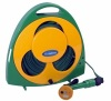 Garden Flat Hose Reel With Hose And Nozzle