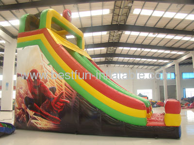 Spiderman Inflatable Slide