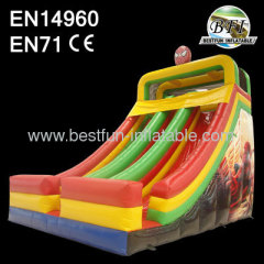 Commercial Inflatable Spiderman Slide