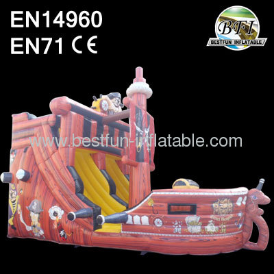 Kids Inflatable Corsair Ship