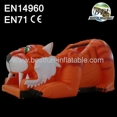 Giant Inflatable Tiger Slides