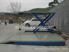Scissor parking lift