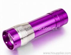 HOT Aluminum Led Torch 9LED Flashlight