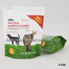 free-standing cat litter bag