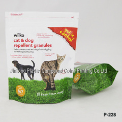 free-standing cat litter bag