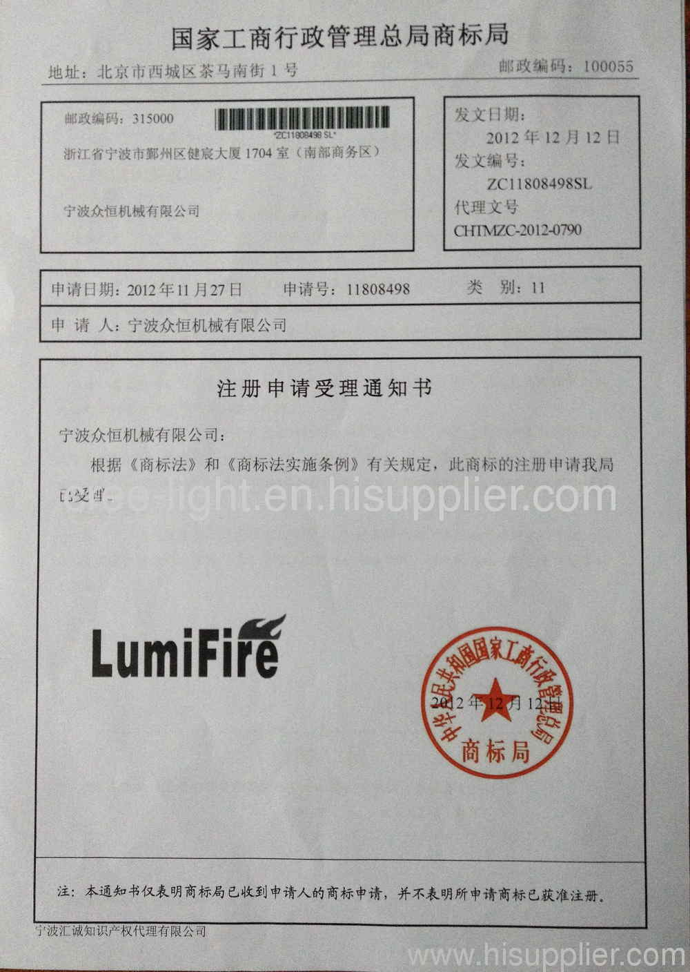 Congratulations!! Our new brand LumiFire~~~
