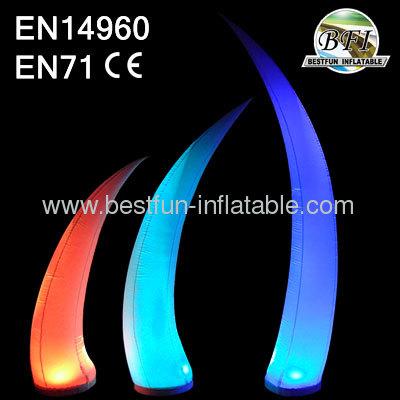 Colorful Air Decor Pillars