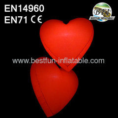 Lighted Inflatable Heart Decor