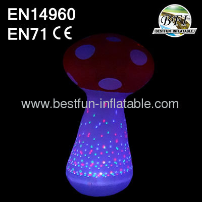 Lighting Inflatable Mushroom Decor