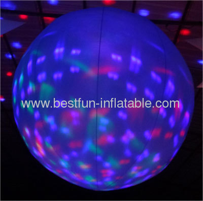Lighted Inflatable Club Balloon Decor
