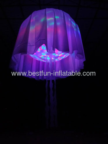 Inflatable Decorating Jellyfish LED Lighting Balloon