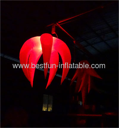 Giant Hanging LED Lighting Air Flowers